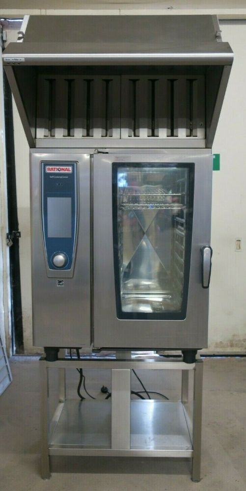 Rational SCC WE 101E 10 Grid Self Cooking Center 1/1GN Electric Combination Oven